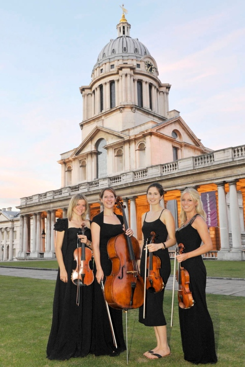 Vanity Strings Quartet at Old Royal Naval College