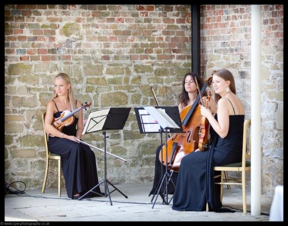 Vanity Strings Trio at Chiddingstone Castle